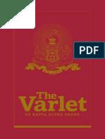 The Varlet of Kappa Alpha Order 2015