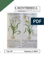 Flora Montiberica vol.59