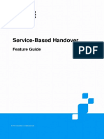 ZTE UMTS Service-Based Handover Feature Guide