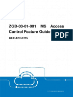 GERAN UR15 ZGB-03!01!001 MS Access Control Feature Guide (V4)_V1.0