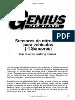 Sensores Genius de Retroceso4