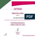 Certificación CE 2015 Peru