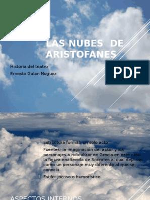Las Nubes De Aristofanes Aristófanes Sócrates
