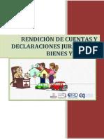 Rendicion de Cuentas y Declaraciones Juradas de Bienes y Rentas