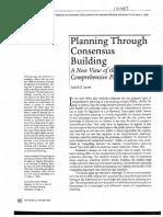 [1996] Innes,JE PlanningThroughConsensusBuilding