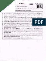 Neet Code Bb Question Paper