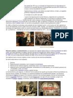 Datos de La Reforma y Anti reforma