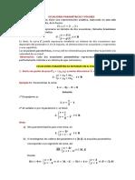 Ecuaciones Paramétricas y Polares