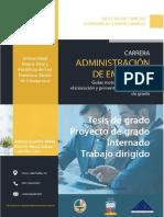 Guías Metodológicas ADM 2017