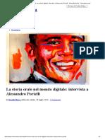 La Storia Orale Nel Mondo Digitale_ Intervista a Alessandro Portelli - Minima&Moralia _ Minima&Moralia