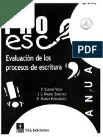 Manual. Pro Esc.