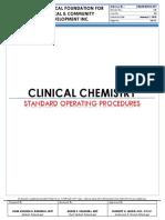 Clinical Chemistry Sjh Sop1