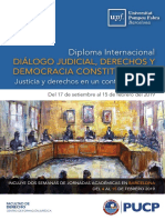 Brochure Diploma Internacional Diálogo Judicial