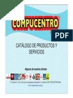 Catálogo de Servicios COMPUCENTRO