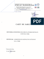 Caiet de Sarcini - Platforma Betonata