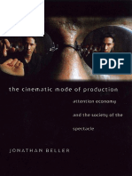 Jonathan Beller the Cinematic Mode of Production Attention Economy and the Society of the Spectacle