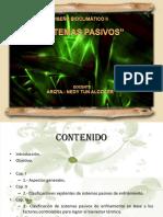 CLASIFIACACION sistemas pasivos