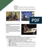 Investigacion de Las Tecnicas Pictoricas
