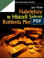 Największy w Historii Sekret Robienia Pieniędzy! - Joe Vitale