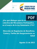 Dialogar Construccion Colectiva Mecanismo Participativo