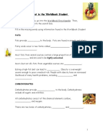 Nutrient Webquest in the Worldbook Student