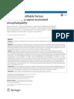 Encefalopatia y Sepsis