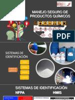 Capacitación sobre Manejo de Productos Quimicos