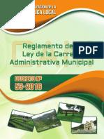 Reglamento LEY CAM
