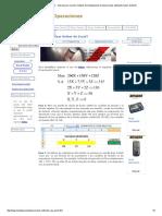 Solver de Excel - Tutorial Para Resolver Modelos de Investigación de Operaciones Utilizando Solver de Excel