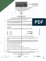 CAPE Chemistry Unit 2 Paper 1 2007-2017