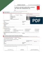Somos Peru Formato Hoja de Vida de Candidato