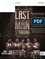 Carpeta Last Man Standing Promoción 2018 ULTIMA