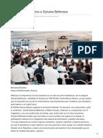 11/06/2018 Respaldan maestros a Sylvana Beltrones