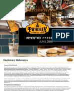 PBPB - Investor Presentation June 2018 - VFINAL