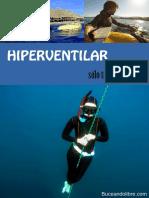Hiperventilar Solo Trae Problemas BuceandoLibre 2a Edicion