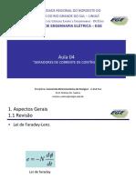 Conv. Eletromecanica I - Geradores CC - Excitação Independente