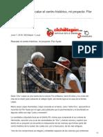 Rescatar el centro histórico mi proyecto Flor Ayala
