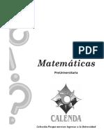 MATEMATICA CALENDA