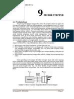 9. Motor Stepper