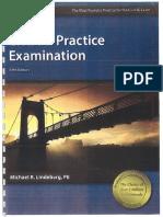 Civil PE Practice Examination