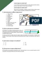 Cuestionarios Dibujo Técnico