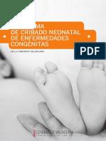 Programa Cribado Neonatal CAST1-2