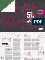 Infográfico 5 anos de junho de 2013