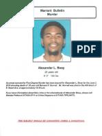 Alexander L Boey Warrant Bulletin