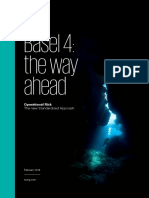 Basel 4 the Way Ahead