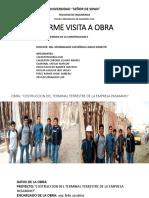 Visita a Obra Pasamayo