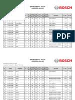 Baterias Bosch - Autos Lista de Precios - Mayo 2015