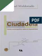CIUDADELA, Miguel Maldonado