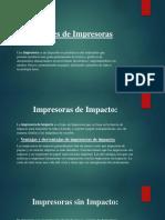 Diapositiva de Impresoras
