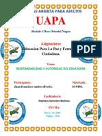 Tarea 2 de Educacion Para La Paz. Amauri